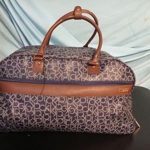 Calvin Klein duffle travel wheeled bag